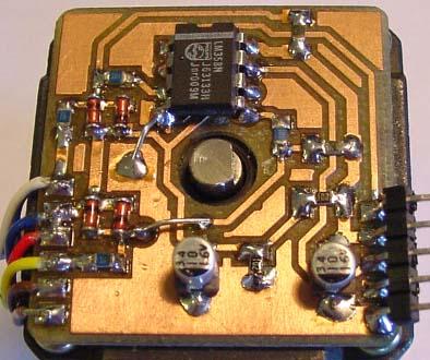 [转帖]使用老软驱步进电机的廉价旋转编码器
