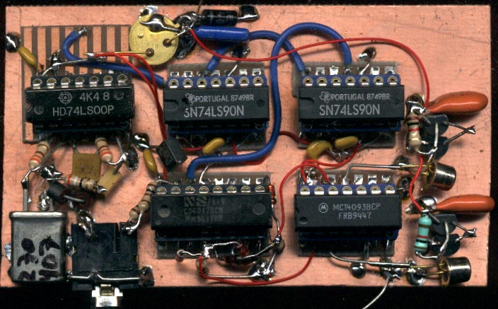 PG1N's HAM Radio Site - 136 kHz Projects - Transmitters
