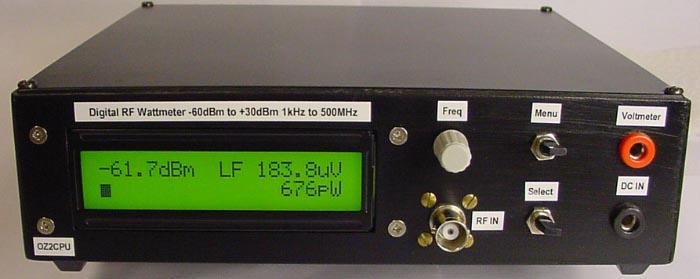 No Rf Digital Electric Meter : Digital wattmeter with ad pic f lcd display