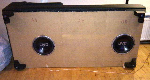 Diy The Sofa Is The Sub Page 3 Home Theater Forum And