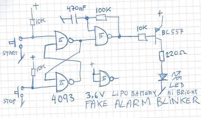 Tremendous Fake Alarm Box How To Make One Cheap And Simple Wiring Database Scataclesi4X4Andersnl